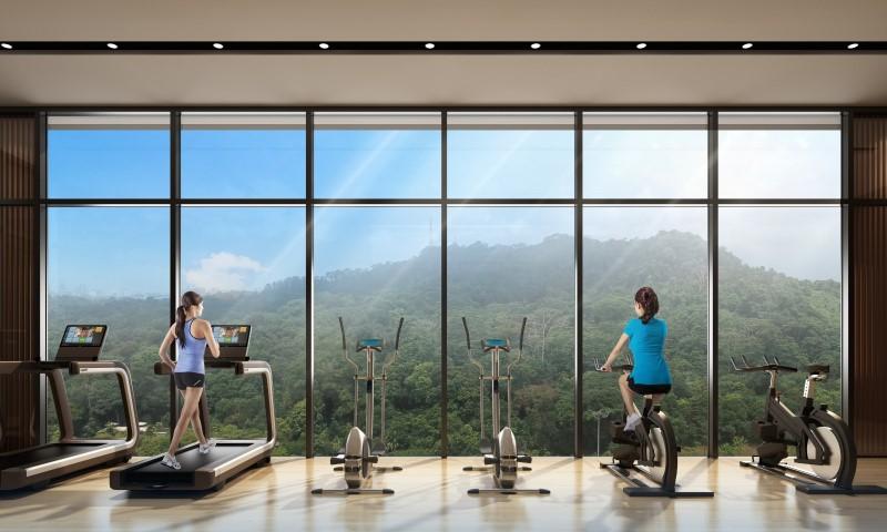 dairy farm residences gym