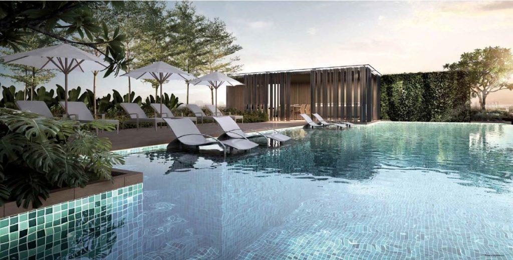 sloane residences lap pool