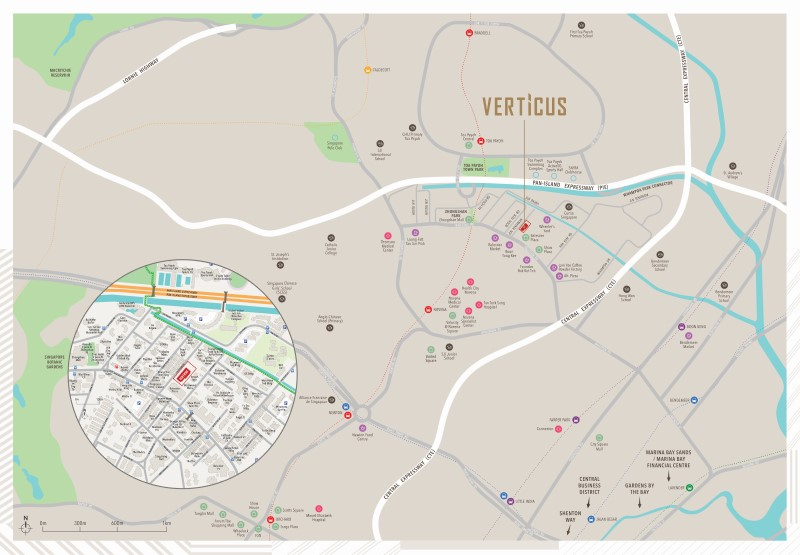 verticus location map