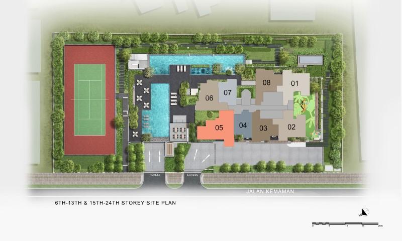 verticus site plan